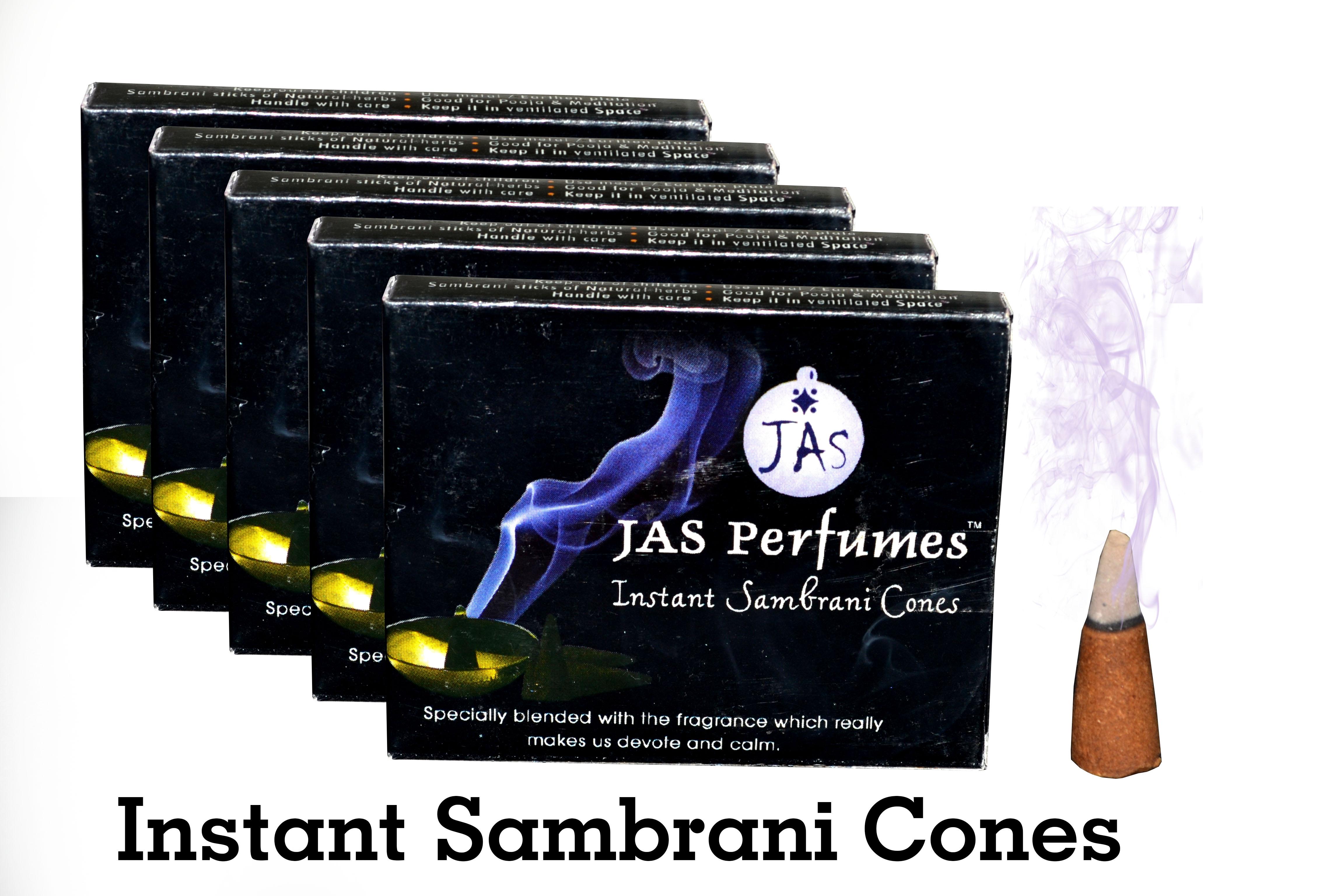 INSTANT SAMBRANI CONES - ( 5 Packs )